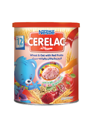 Cerelac Wheat & Oat with Red Fruits