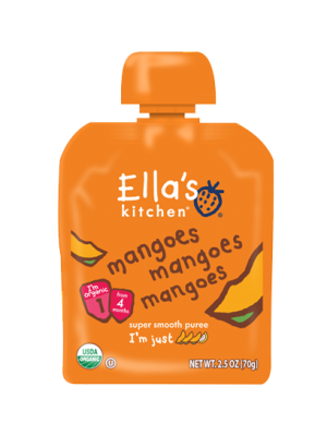 Ella's Kitchen Mangoes, Mangoes, Mangoes