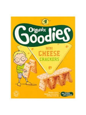 Organix Mini Cheese Crackers (4 packs)