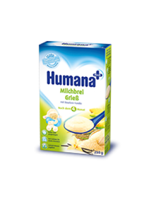Humana Milk Cereals Semolina with Vanilla