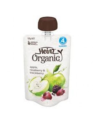 Heinz Organic Apple, Raspberry & Blackberry
