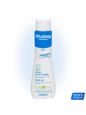 Mustela Bath Oil (200ml)
