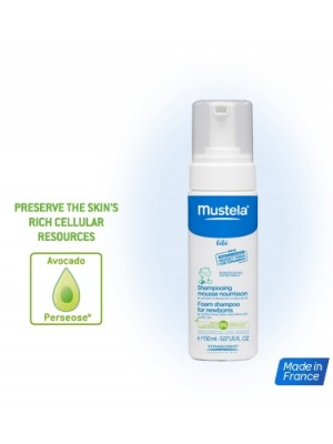 Mustela Foam Shampoo for Newborns (150ml)