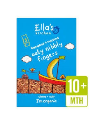 Ella's Kitchen Oaty Nibbly Fingers (Banana and Raisins)
