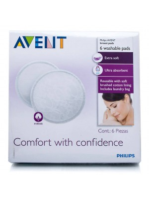 Philips Avent Washable Breast Pads (6)
