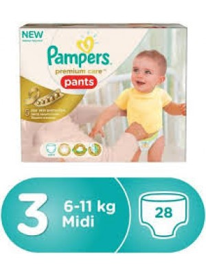 Pampers Premium Care Pants Size 3 (28)