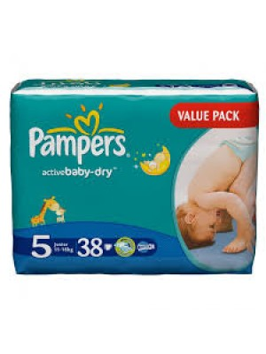 Junior Size 5 (38 Diapers)