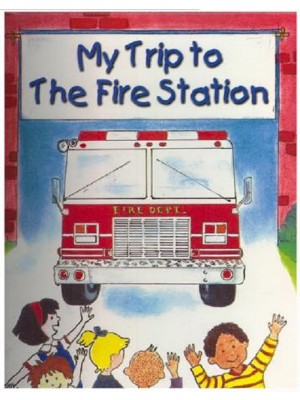 """Trip to Fire Station"" Personalized Book"