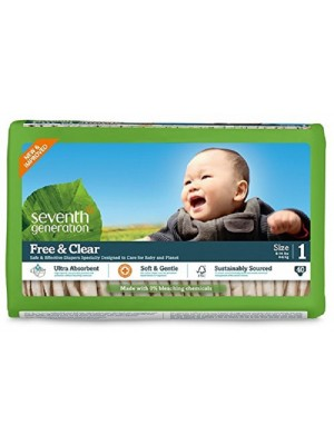 Seventh Generation Small (40 Diapers)
