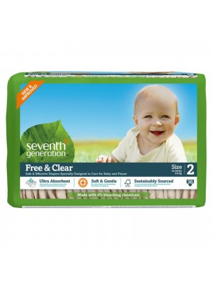 Seventh Generation Medium (36 Diapers)