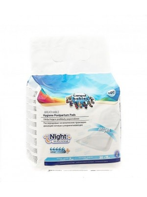 Canpol Babies Breathable Postpartum Night Pads (10 pcs)