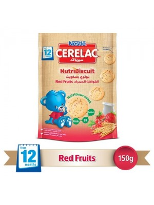 Cerelac NutriBiscuit Red Fruits (150g)