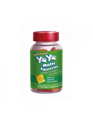 YaYa Multivitamins + Minerals (60 gummies)