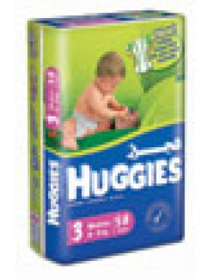 Huggies Medium Size 3 (21 Diapers)