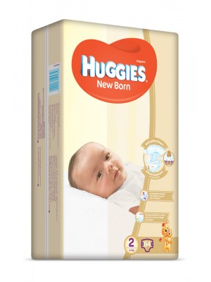 Huggies Size 2 (64 diapers)