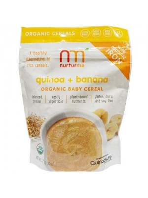 Nurturme Organic Baby Cereal (quinoa, banana) 104g