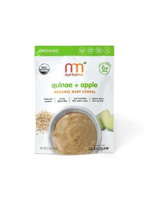 Nurturme Organic Baby Cereal (quinoa, apple) 104g