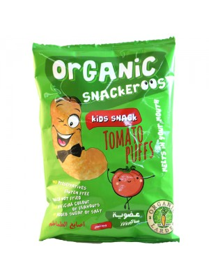 Snackeroos Organic Tomato Puffs