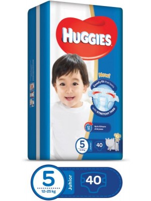 Huggies Junior Size 5 (40 Diapers)