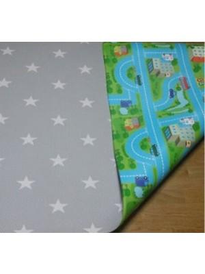 Bumpa Mats (Grey Stars & Blue Track)