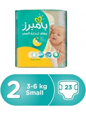 Small Size 2 (23 Diapers)