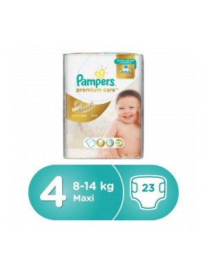 Pampers Premium Care Size 4 (23 diapers) 9-14kgs