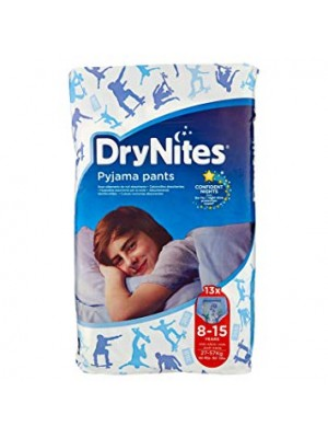 Drynites Pyjama Pants Boy 8-15 years (13 count)