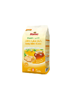 Holle Organic Baby Mini Rusks 100g