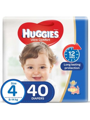 Huggies Large Size 4 (40 Diapers)