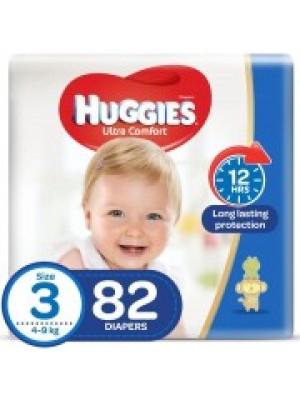 Huggies Medium Size 3 (82 Diapers)