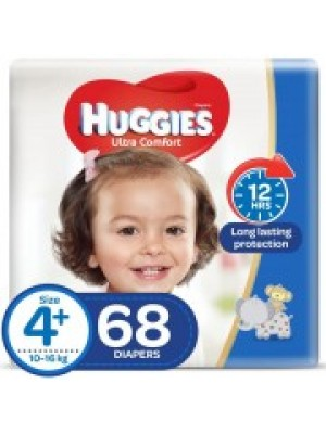 Huggies X-Large Size 4plus (68 Diapers)