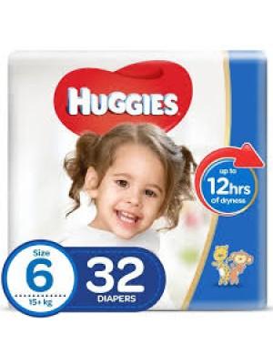 Huggies Size 6 (32 Diapers)