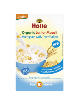 Holle Cereal Multigrain with Corn Flakes (10m+)
