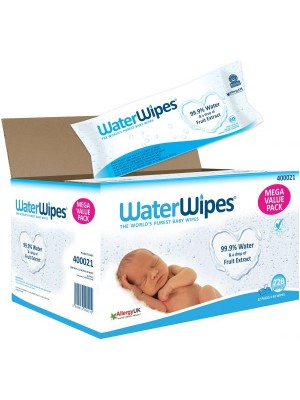 Waterwipes Mega Value Box (12 x 60 wipes), 720 count