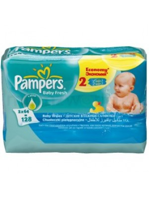 Pampers Regular Wipes Dual Pack