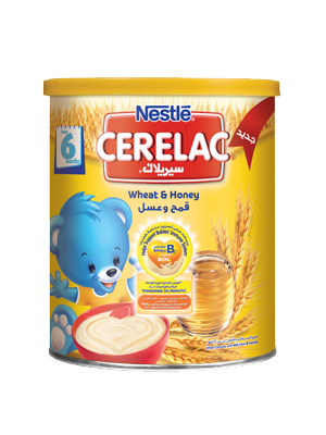 Cerelac Wheat Honey 400g