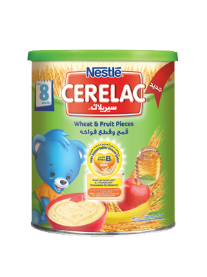 Cerelac Wheat & Fruit Pieces 400g