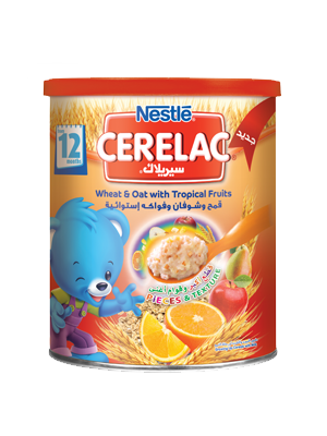 Cerelac Wheat & Oat with Tropical Fruits
