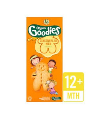 Organix Gingerbread Men (15 packs)