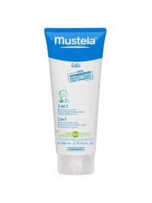 Mustela 2 in 1 Hair and Body Wash (200ml)