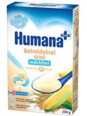 Humana Semolina Milk Cereals