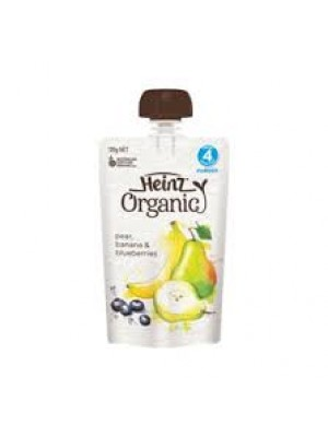 Heinz Pear, Banana and Blueberries (120g)