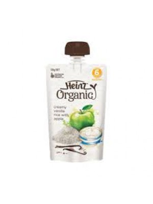 Heinz Organic Creamy Vanilla Rice with Apple