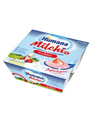 Humana Milk Dessert (Strawberry) x4