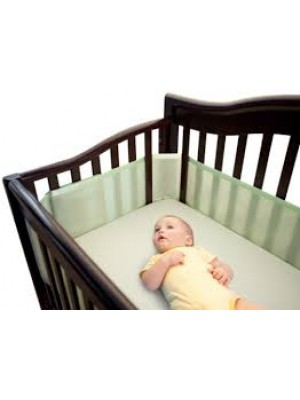Breathable Mesh Liner for Crib