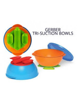 Gerber 2x Tri-suction Bowls