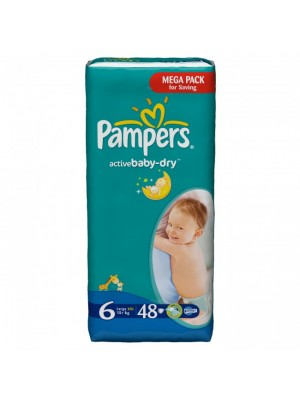Pampers Size 6 (48 Diapers)