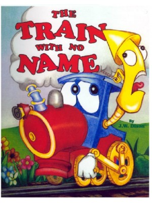 """Train with No Name"" Personalized Book"