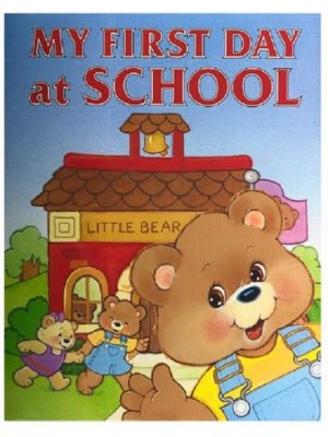 """My First Day at School"" Personalized Book"