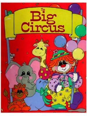 """Big Circus"" Personalized Book"